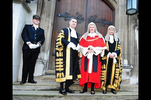 David Gauke MP arrives to be sworn in as lord chancellor